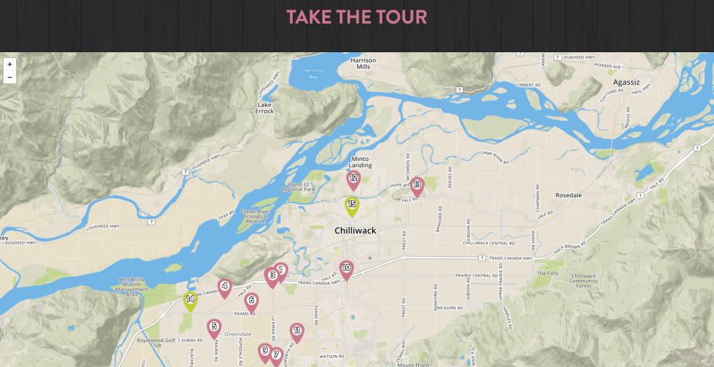 Circle Farm Tour Interactive Map