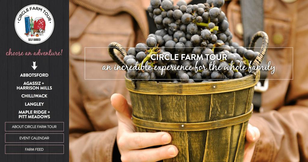 Circle Farm Tour Rebrand by Studiothink
